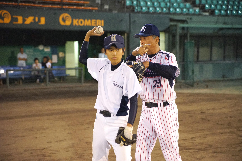 中学野球】中学3年生に元プロが...